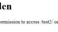 「403 Forbidden」でサイトが表示できない