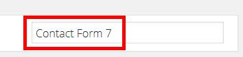 「Contact Form 7」プラグインを検索