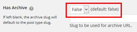 URLのバッティングを避けるためアーカイブを無効に