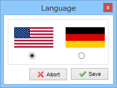 XAMPPの言語選択