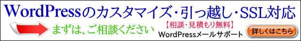WordPressメールサポート